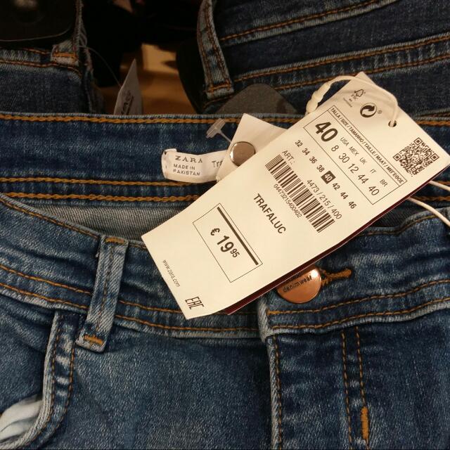 Zara Original Skinny Jeans