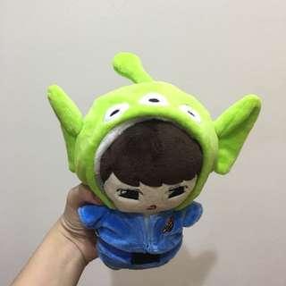 EXO BTS INFINITE 20公分娃娃配件