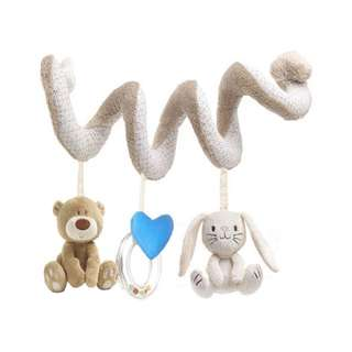 Hanging Spiral Plush Toy