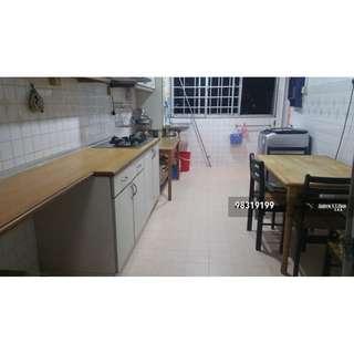 3+1 Blk 246 Yishun furnished 3 Aircond immed high floor 9pax ok $1.8k nego