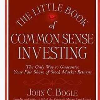 The Little Book Of Common Sense Investing