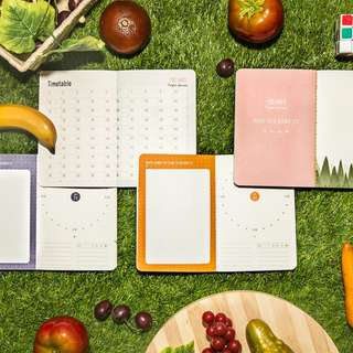 Sweet Fruit Style 100 Days Project Planner