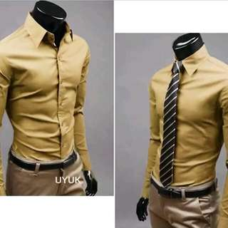 Formal Shirt - Khaki colour - Size M