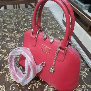 TOCCO TOSCANO Strawberry Pink Handbag