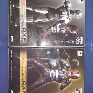 全新 Banpresto DXF Vol 12 Kamen Rider Black & Shadow Moon 幪面超人 Black 影月