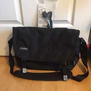 Timbuk2 Black Laptop Messenger Bag (Like New)