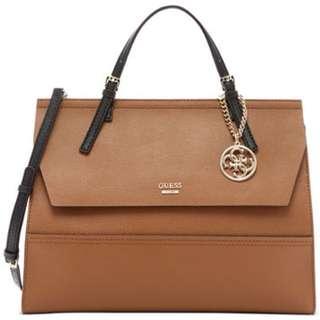 Guess Satchel Women's Brown Bag