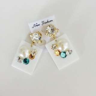 Chunky Handmade Earrings From Japan