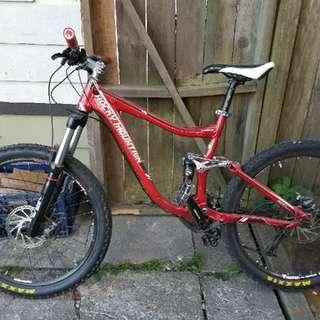 2010 Rocky Mountain Slayer downhill bike.