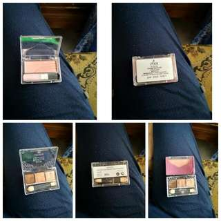 Blush On Pixy dan Eyeshadow Emina