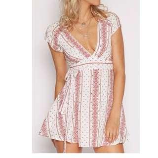Popcherry Wrap Dress