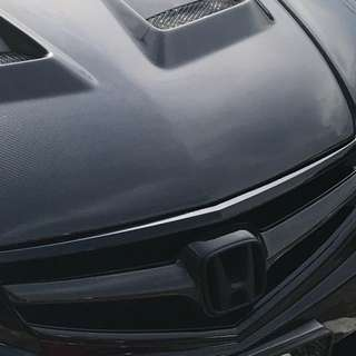Honda Accord Cl7 Carbon Fiber Front Grill