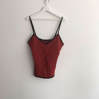 ZARA Contrast Bias Cami (Matching pants Also Available)