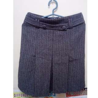 Charcoal Gray Skirt
