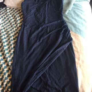Kookai Navy Blue Dress