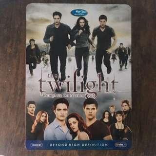 Twilight Saga 5-CD DVDs