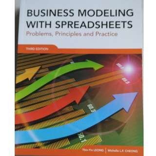 Business modelling with spreadsheets