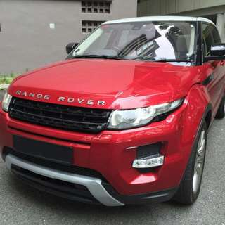 Range Rover Evoque Dynamic 2012 (Used)