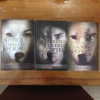 VIOLET SAMUELS - NIGHTFALL SERIES BOOKS (NEW) - 3 BOOKS IN TOTAL