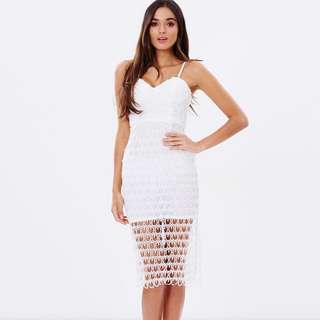 Ivory And Chain Dress