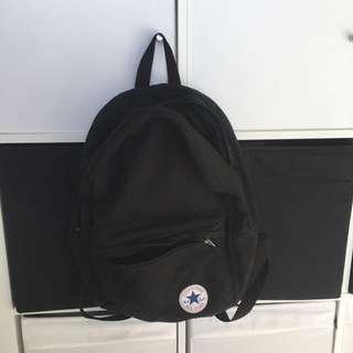 Converse Black Backpack