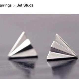 Jet Plane Studs