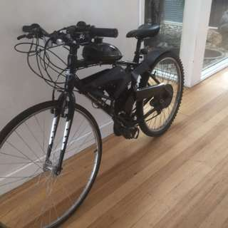 Motor Push Bike