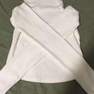 Sirens Open Shoulder Sweater