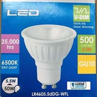 Megaman GU10 LED Dimmable 5.5w Daylight