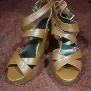 Charles & Keith Wedges Shoe