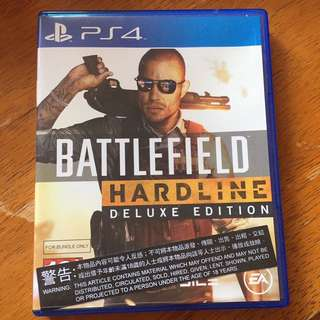 Battlefield Hardline *DELUXE EDITION* for PS4