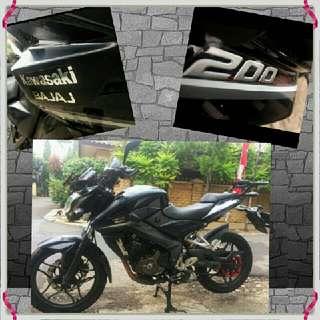 Kawasaki Bajaj 200 cc