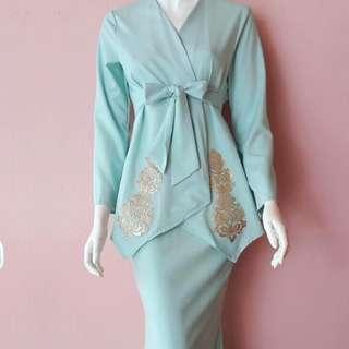 Mint Modern Kimono Kebaya Wrap