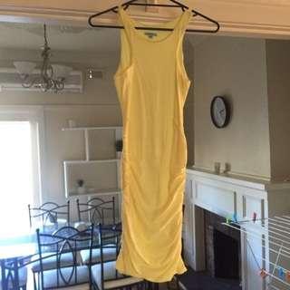 Yellow Kookai Dress