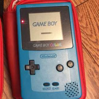 Game Boy Color With Accessories