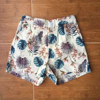 BN Floral Patterned Shorts