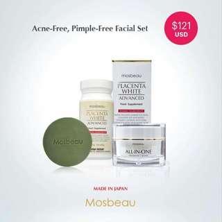 Acne-Free, Pimple-Free Facial Set $121