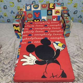 Sofa Bed For Boys (Mickey Mouse)