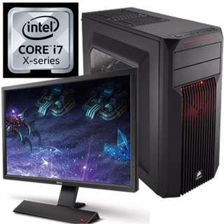 CORSAIR x i7-7800X x GTX1070 自組電競RGB電腦組合 ~ GFi7W1001