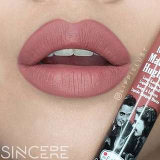 Lipstick The Balm - Shade Sincere