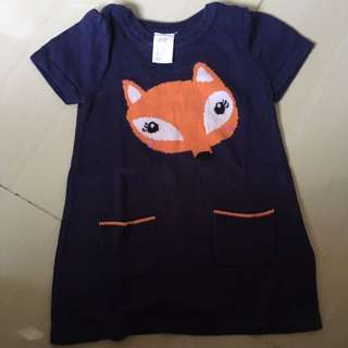 ORI H&M KNITTED Dress Size 4-6m Big Cutting!!!