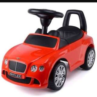 Red Bentley Ride On Car For Kids And Toodlers