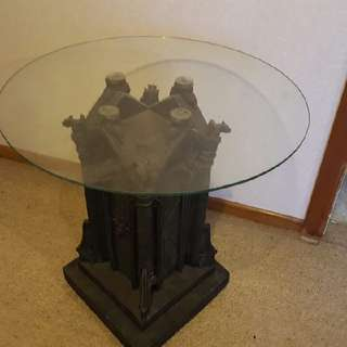 Gothic gargoyle Side table