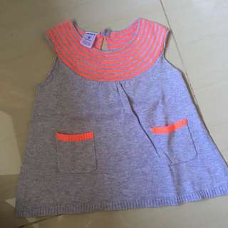 ORI CARTERS DRESS SIZE 9m
