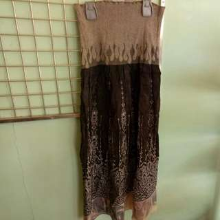 Reprice # Long Skirt Triset