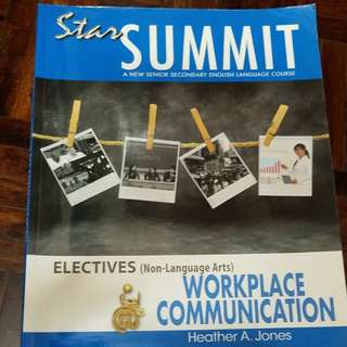 HKDSE English Star Summit Workplace communication electives