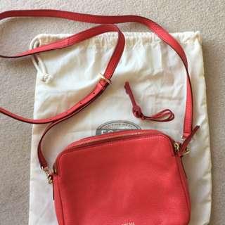 Fossil Sydney Red Cross Body Bag