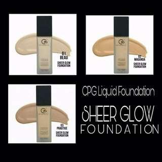 CPG SHEER GLOW LIQUID FOUNDATION