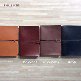 DIY Travelers Notebook Leather Cover Classic Smal