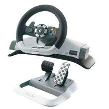 Xbox 360 Wireless Racing Wheel (PC not PS4)